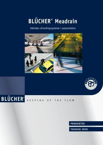 BLÜCHER® Meadrain Produktkatalog Udendørs ...