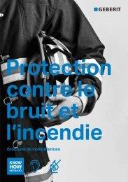 Brochure de compétences: Protection contre le bruit et l ... - Geberit