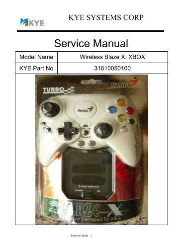 X BOX Service Manual.pdf - Genius