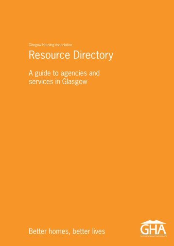 Resource Directory - Glasgow Housing Association