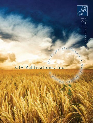 new! - GIA Publications