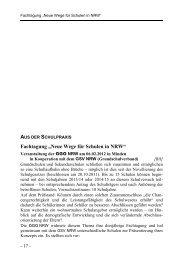 """Fachtagung """"Neue Wege für Schulen in NRW"""""""