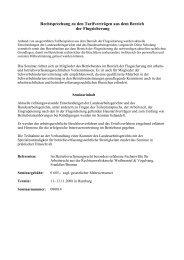 Rechtsprechung zu den Tarifverträgen aus dem Bereich der ...