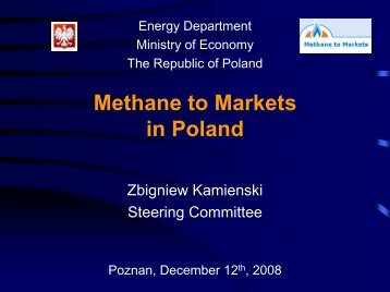 Methane to Markets in Poland - Global Methane Initiative