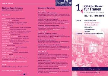 RSF Flyer Abschlussveranstaltung Wirtschaftsfaktor Frauen - GIB NRW