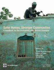 Safer Homes, Stronger Communities - GFDRR