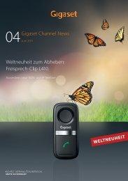 Freisprech-Clip L410. - Telefone