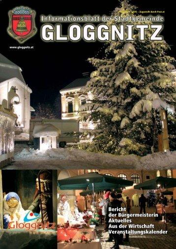 Informationsblatt 4/2012 - Stadtgemeinde Gloggnitz