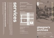 Archives for Family History Leaflet - Glasgow Life