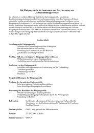 Die Einigungsstelle als Instrument zur Durchsetzung von ...