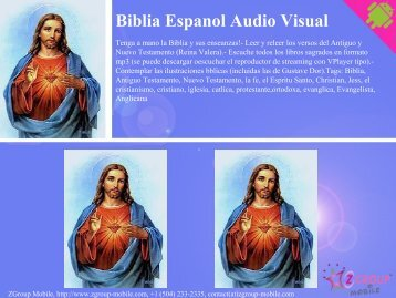 Biblia Espanol Audio Visual - Get Mobile game
