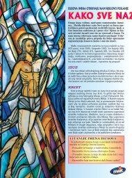 KAKO SVE NAZIVAMO ISUSA? - Glas Koncila