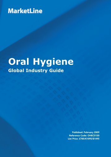 Oral Hygiene - Business Insights