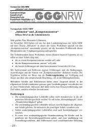 """""""Inklusion"""" und """"Kompetenzzentren"""" - Gemeinnützige Gesellschaft ..."""