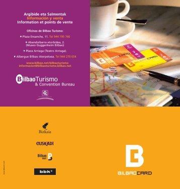 Argibide eta Salmentak Información y venta Information et points de ...