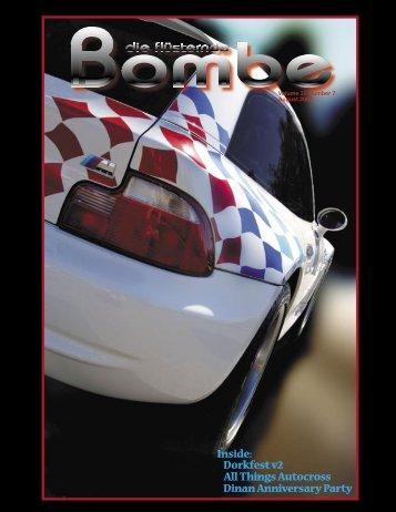 GGC August newsletter - GGC BMW CCA