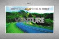 2001 Chevrolet Venture - GM Canada