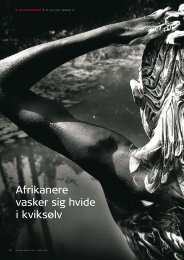 Afrikanere vasker sig hvide i kviksølv - Geus