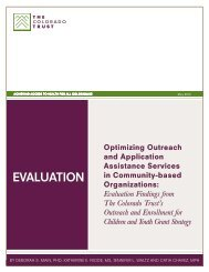 Optimizing Outreach and Application Assistance Services in ...