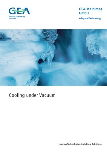 Cooling under Vacuum - GEA Wiegand