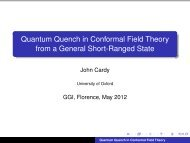 Quantum Quench in Conformal Field Theory from a General Short ...