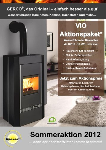 Sommeraktion 2012 - Gerco