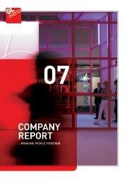 Company report 2007 - GL events