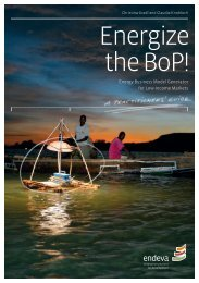 Energize the BoP! (developed in collaboration with endeva and ...