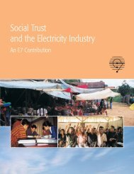 Social Trust and the Electricity Industry - Global Sustainable ...