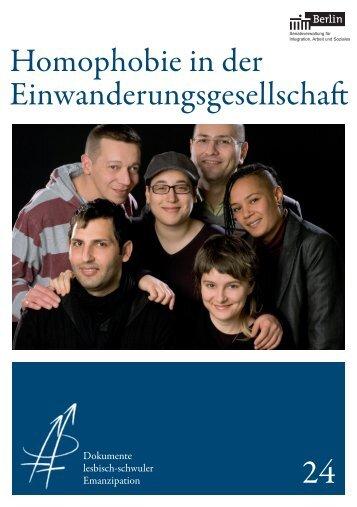 Homophobie in der Einwanderungsgesellschaft - Berlin.de
