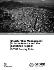 Latin America and the Caribbean - GFDRR