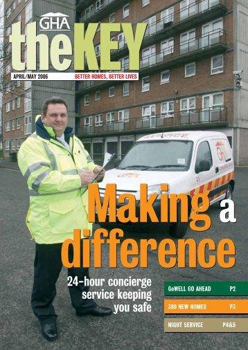 The Key Apr/May 06 - Glasgow Housing Association