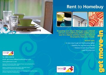Rent to Homebuy - Get Move-in >> Home