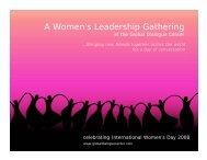 reflections (pdf) - Global Dialogue Center