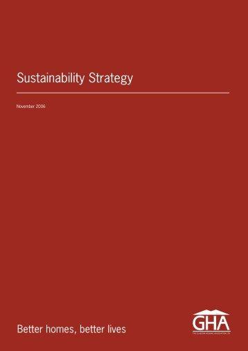 Sustainability Strategy - Glasgow Housing Association