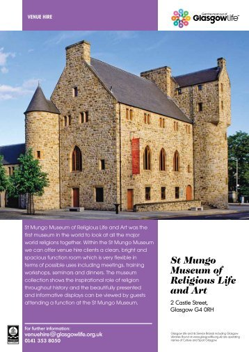 St Mungo Museum of Religious Life and Art - Glasgow Life