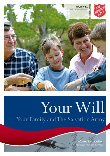 Your Family and The Salvation Army