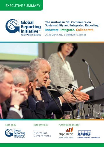Download the Executive Summary - Global Reporting Initiative
