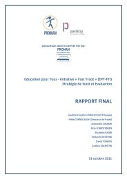 RAPPORT FINAL - Global Partnership for Education