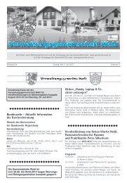 Bundeswehr - Aktuelle Information der ... - Gemeinde WALD