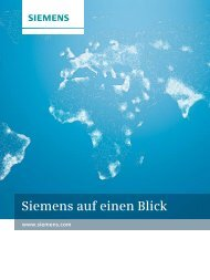 Siemens-Geschäftsbericht 20110, Auf einen Blick