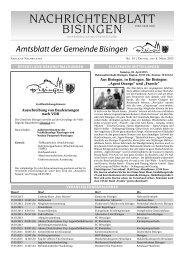 10 Umbruch_Leerumbr.qxd - Gemeinde Bisingen