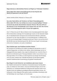MEDIENMITTEILUNG PM Sicher dabei! 2012_PK Berlin ... - Geberit