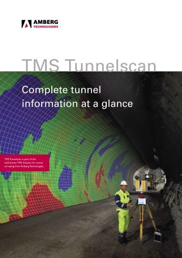 TMS Tunnelscan - Amberg Technologies