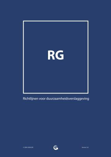 Richtlijnen voor duurzaamheidsverslaggeving - Global Reporting ...