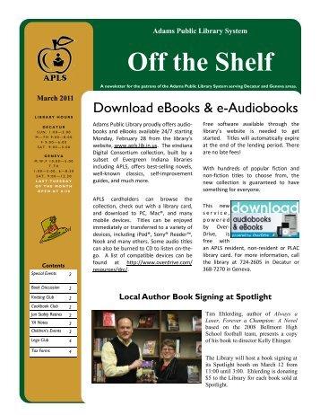 Off the Shelf - Adams Public Library System