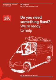 Repairs and Maintenance Service leaflet - Glasgow Housing ...
