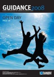 OPEN DAY - Glasgow Caledonian University