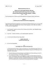 Referentenentwurf für ein Gesetz zum ordnungspolitischen ... - GKinD