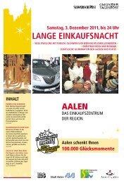 Lange Einkaufsnacht ACA 01.12.2011